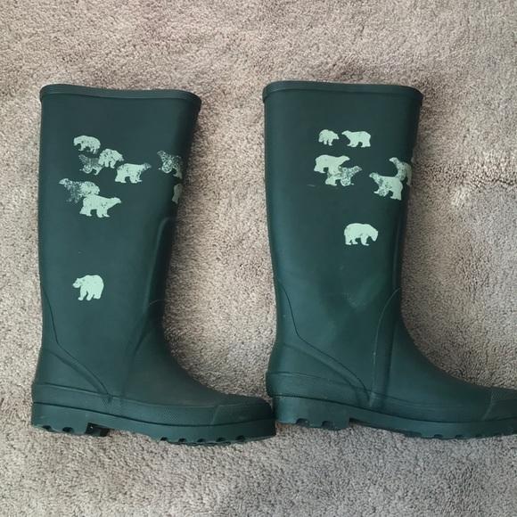 0da1c71ad553f J. Crew Shoes | Jcrew Lined Rain Boots Size 8 | Poshmark